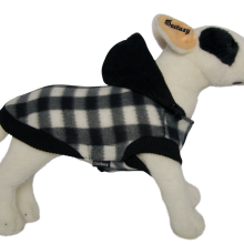 Hondenjasje Fleece Chess black bij AnimalWebshop