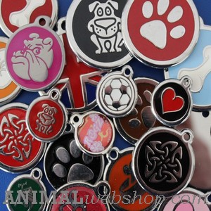Luxe Hondenpenningen bij AnimalWebshop.com met naam