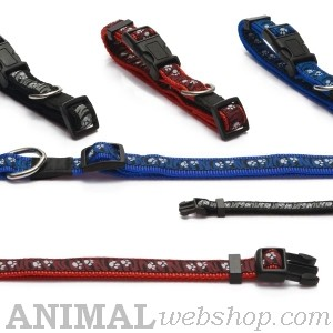 Nylon halsbanden bij AnimalWebshop.com Hondenpenning.net HETDIER.nl 1