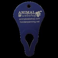 Tick Key tickkey tekenverwijderaar Animalwebshop Hondenpenning.net hetdier.nl blauw