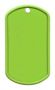 RVS geverfd – Limoen groen (W)