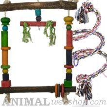 Speelgoed voor Papagaaien
